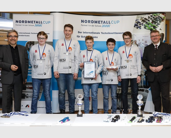 2. Platz Junior-Team Blizzard Racing NORDMETALL Cup Hamburg 2018