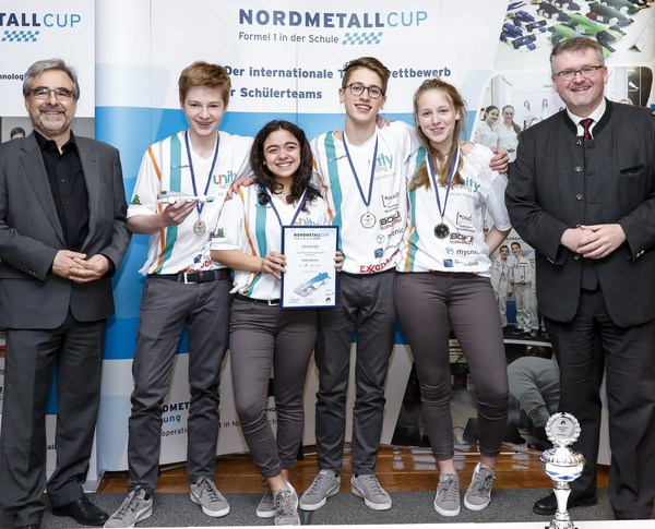2. Platz Senior-Team Unity Racing NORDMETALL Cup Hamburg 2018