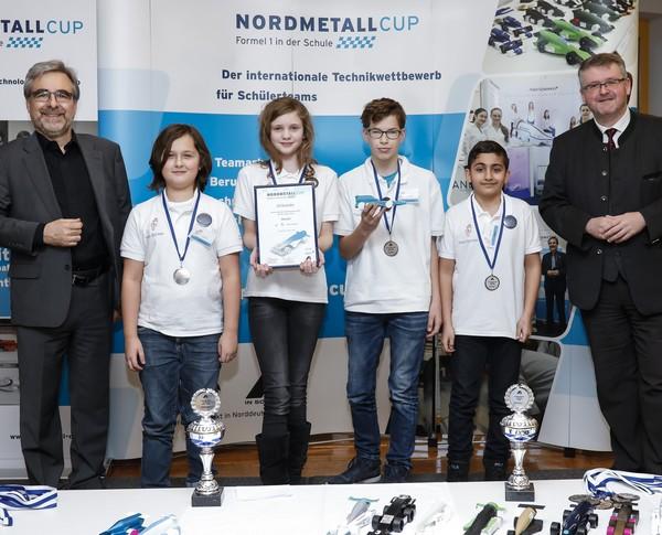 3. Platz Junior-Team Rocket NORDMETALL Cup Hamburg 2018