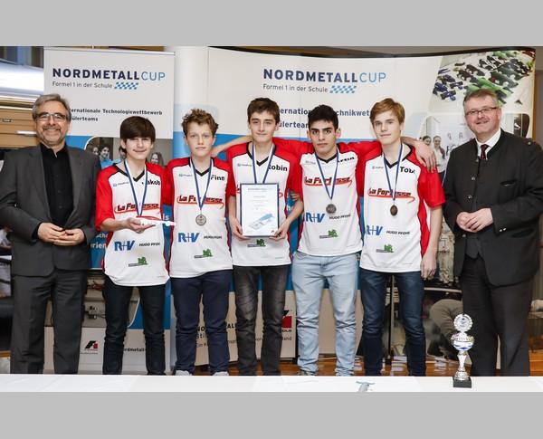 3. Platz Senior-Team La Fortesse NORDMETALL Cup Hamburg 2018