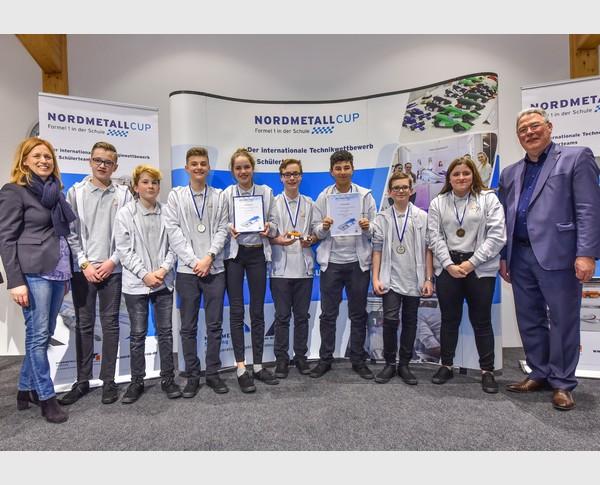 3. Platz Junior-Team Lynx Racers NMC SH 2018
