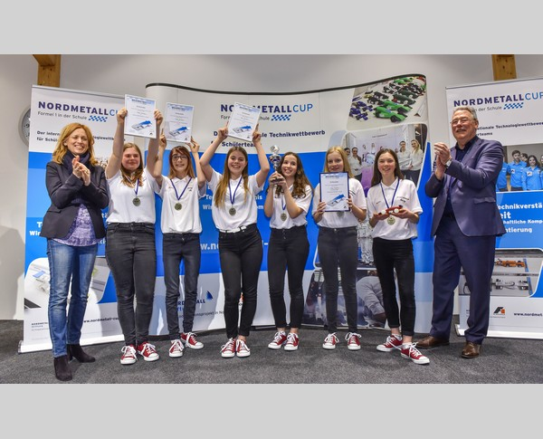 1. Platz Junior-Team Rose Shadow NMC SH 2018
