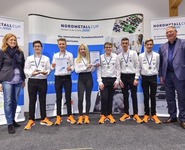 2. Platz Junior-Team Flying Penguin NMC SH 2018