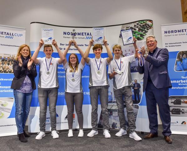 1. Platz Senior-Team Spectrum NMC SH 2018