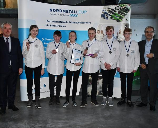 2. Platz Junior-Team CaLewa NMC MV 2018