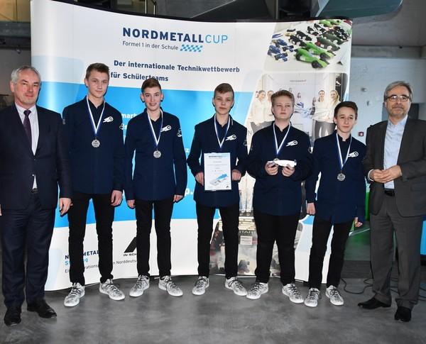 2. Platz Senior-Team Comet NMC MV 2018