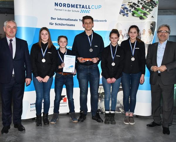 3. Platz Senior-Team TEC. NMC MV 2018