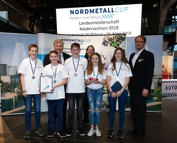 2. Platz Junior-Team JEM2RACE NORDMETALL Cup NI 2018