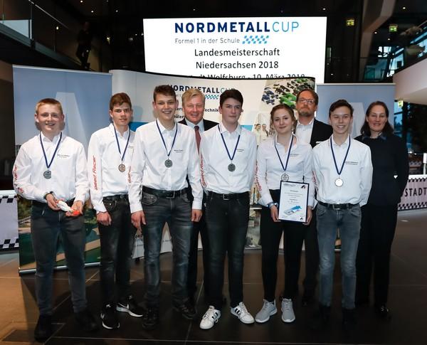 3. Platz Senior-Team SpeedRacer NMC NI 2018
