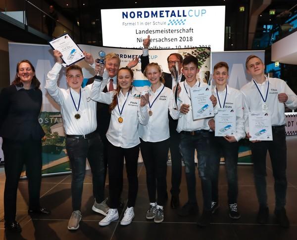 Landesmeister Senior-Team Wi vom Dörp NMC NI 2018