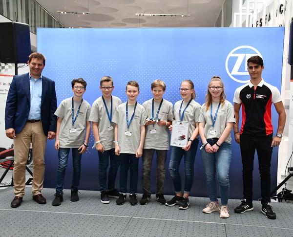 5. Platz Junioren-Team Mach2 Formel 1 in der Schule Deutsche Meisterschaft 2018