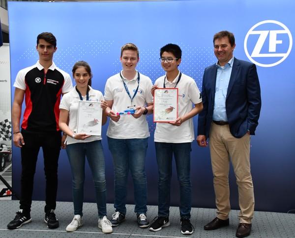6. Platz Evispo Formel 1 in der Schule Deutsche Meisterschaft 2018