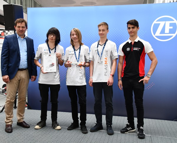 12. Platz Senioren-Team PLASMAGIE Formel 1 in der Schule Deutsche Meisterschaft 2018