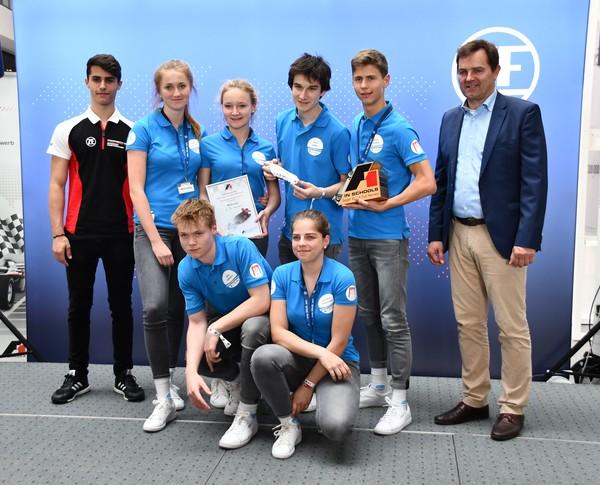 5. Senioren-Team MCGravity Formel 1 in der Schule Deutsche Meisterschaft 2018