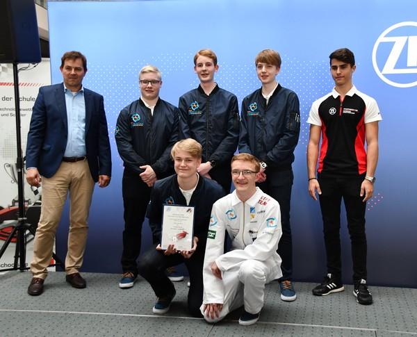8. Platz Senioren-Team Huracan Formel 1 in der Schule Deutsche Meisterschaft 2018