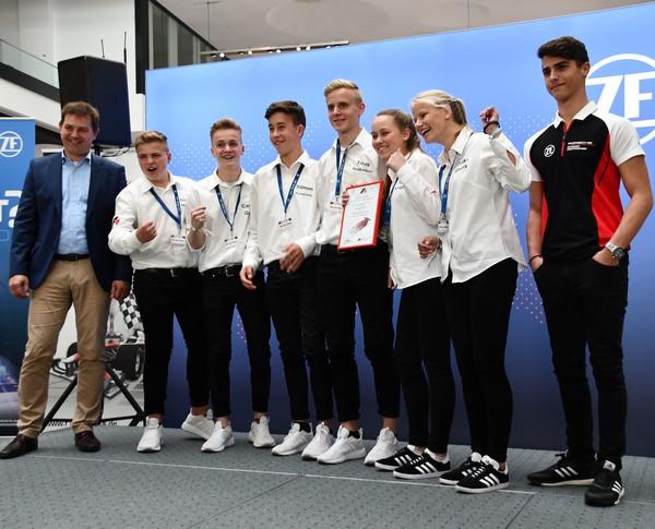 Sonderpreis der Jury Wi vom Dörp Formel 1 in der Schule Deutsche Meisterschaft 2018