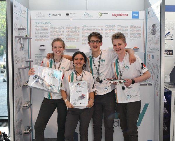 Unity Racing Box Formel 1 in der Schule Deutsche Meisterschaft 2018