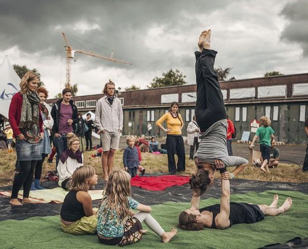 Akrobatik-Workshop