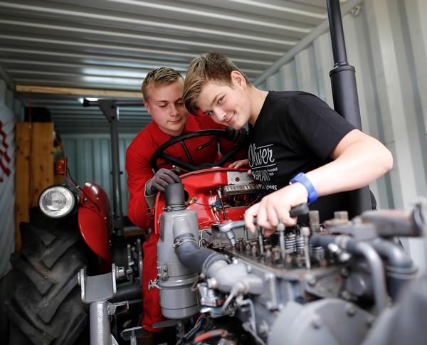 MINT-Schule Schleswig-Holstein 2018 Gemeinschaftsschule Mölln Traktor