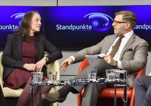 TV-Talk blickt auf 15 Jahre NORDMETALL-Stiftung