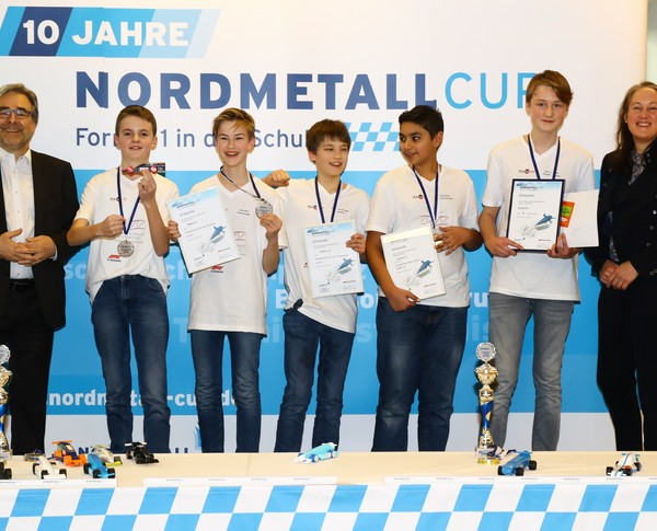 NORDMETALL Cup Hamburg 2019 2. Platz Junioren-Team TEAMINT