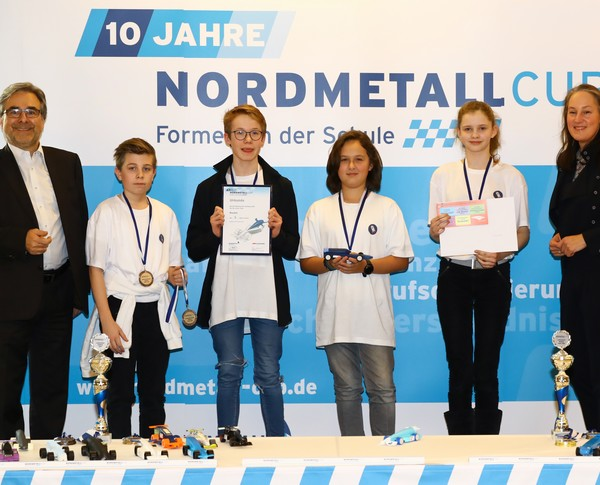 NORDMETALL Cup Hamburg 2019 3. Platz Junioren-Team Rocket