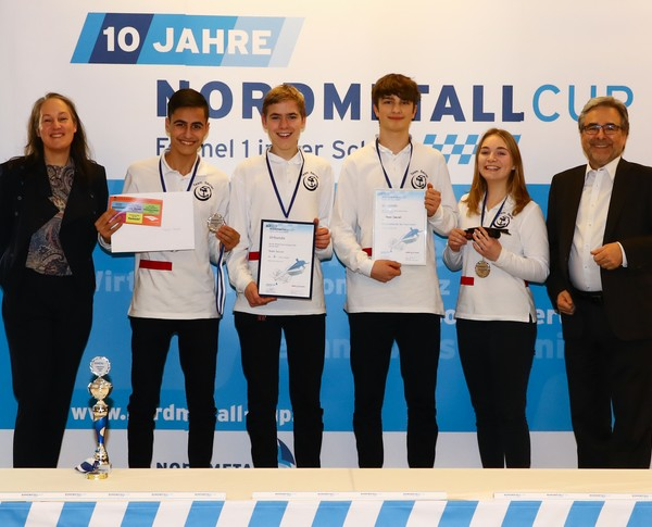 NORDMETALL Cup Hamburg 2019 2. Platz Senioren-Team Team Secret