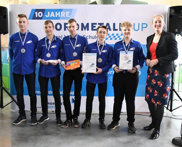 NORDMETALL Cup MV 2019 Senioren 2. Platz Comet