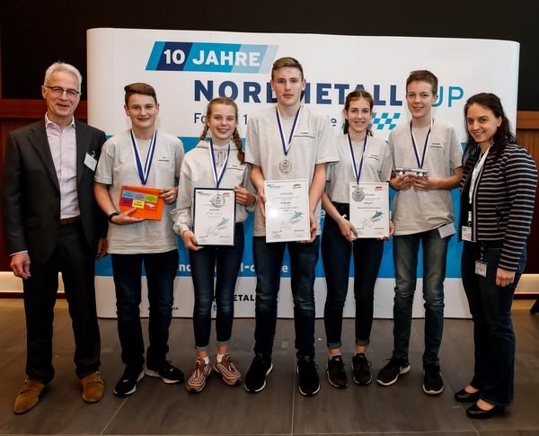 NORDMETALL Cup Niedersachsen 2019 Junioren 2. Platz Dorfkinder