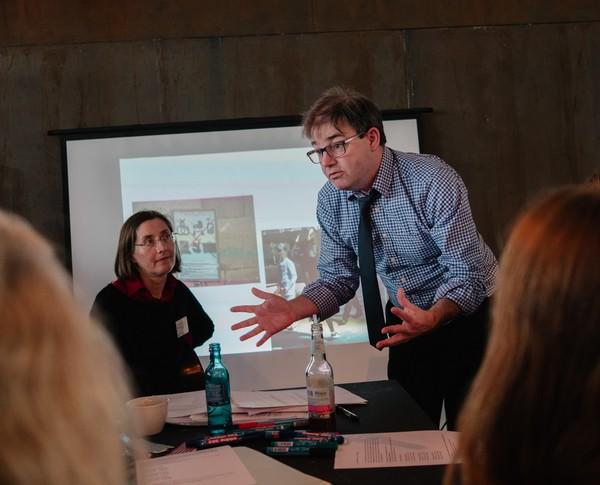 """Workshop John-Paul Sumner, Symposium """"Das relevante Museum"""""""
