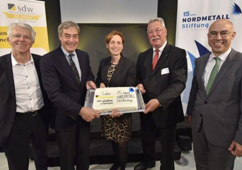 NORDMETALL-Stiftung feiert ihren 15. Geburtstag