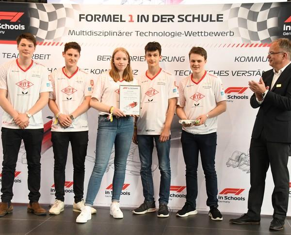 Deutsche Meisterschaft 2019: Hyper Frog Racing, Platz 9 Senioren