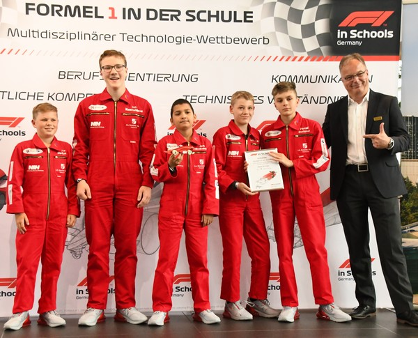 Deutsche Meisterschaft 2019: Red Arrow, Platz 8 Junioren