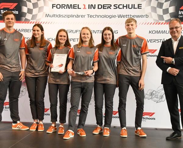 Deutsche Meisterschaft 2019: TEC., Platz 10 Senioren