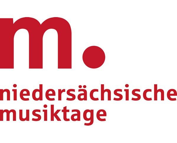 Niedersächsische Musiktage Logo mit zwei Unterzeilen 4c
