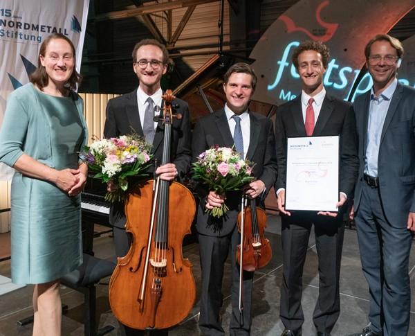 Festspiele MV, NORDMETALL-Ensemblepreisverleihung 2018, Busch Trio