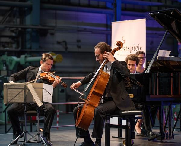 Festspiele MV, NORDMETALL-Ensemblepreis 2018, Busch Trio