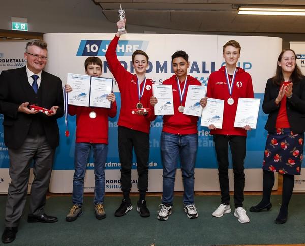 NORDMETALL Cup Hamburg 2020 Junioren-Landesmeister, TEAMINT