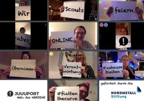 JUUUPORT-Scouts rücken online zusammen