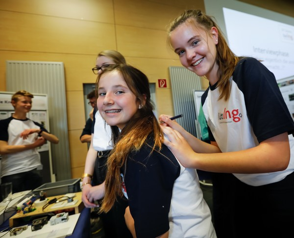lüttIng 2019 Kiel, Mädchenteam