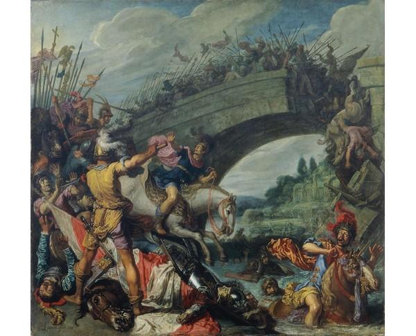 Pieter Lastmann, Schlacht zwischen Konstantin und Maxentius