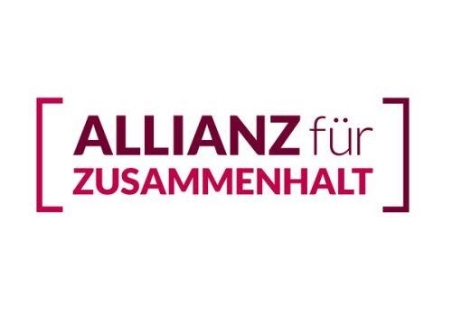 """""""Allianz für gesellschaftlichen Zusammenhalt"""""""